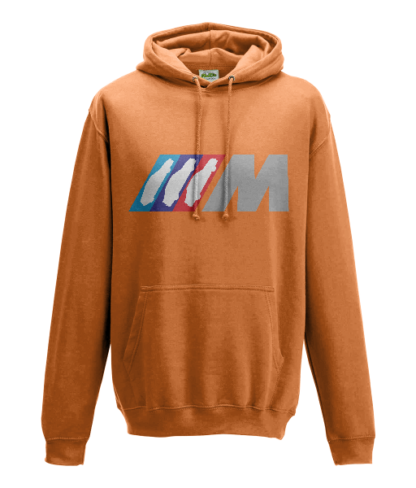 BMW M Series Hoodie in Orange