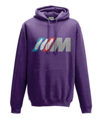 BMW M Series Hoodie in Purple