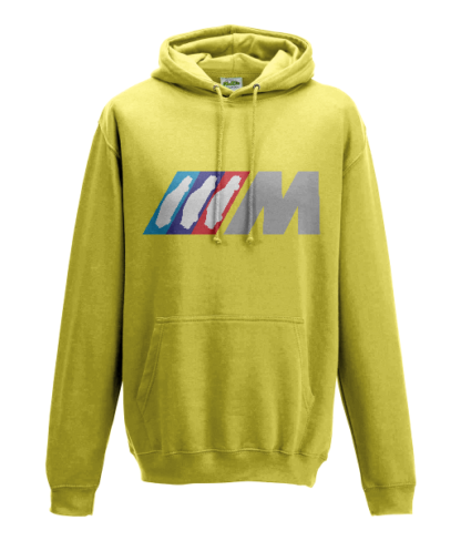 BMW M Series Hoodie in Yellow