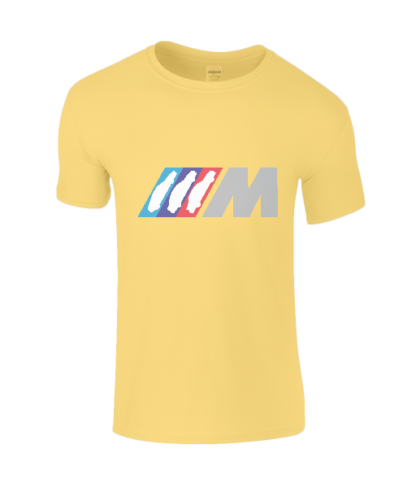 BMW M Series T-Shirt in Yellow