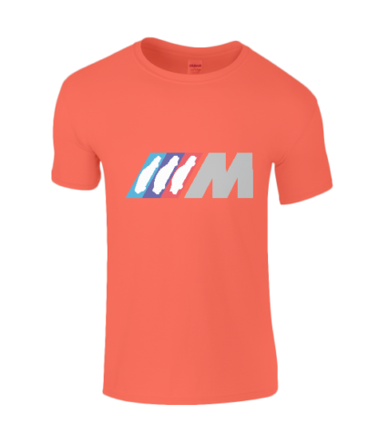 BMW M Series T-Shirt in Orange