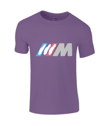BMW M Series T-Shirt in Purple
