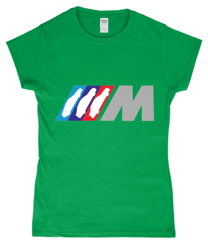 BMW M Series T-Shirt in Green