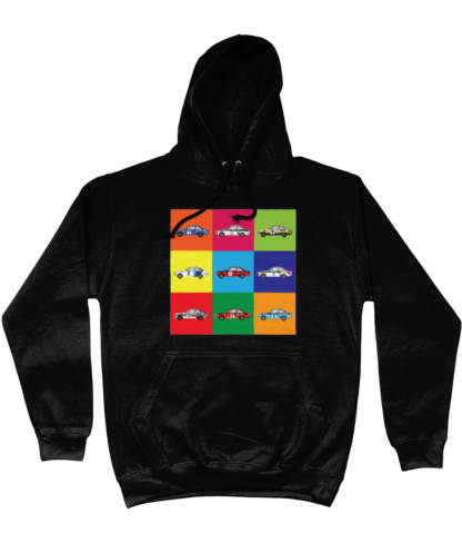 Ford Escorts Hoodie in Black