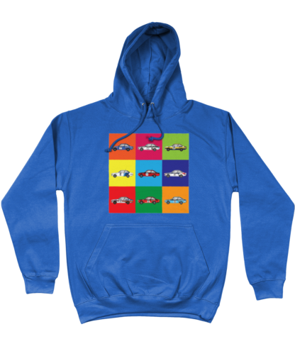 Ford Escorts Hoodie in Blue
