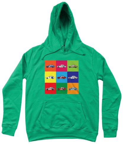 Ford Escorts Hoodie in Green