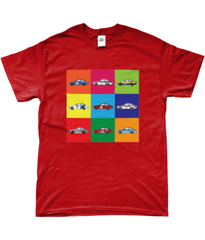 Ford Escorts T-Shirt in Red