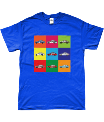 Ford Escorts T-Shirt in Blue