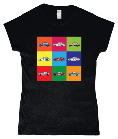 Ford Escorts T-Shirt in Black