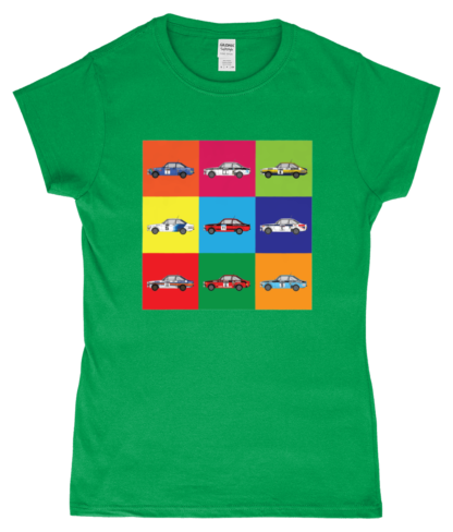 Ford Escorts T-Shirt in Green