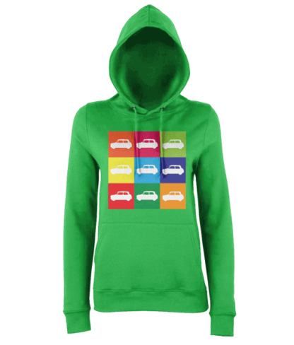 Mini Hoodie in Green