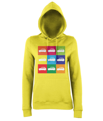 Mini Hoodie in Yellow