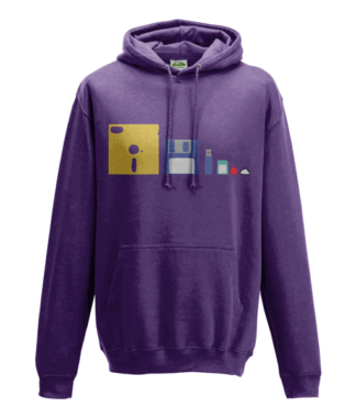 Storage Evolution Hoodie in Purple