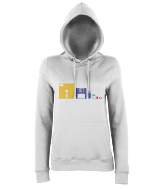 IT Storage Evolution Hoodie in White