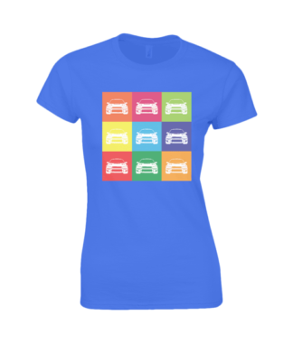 Subaru Impreza T-Shirt in Blue