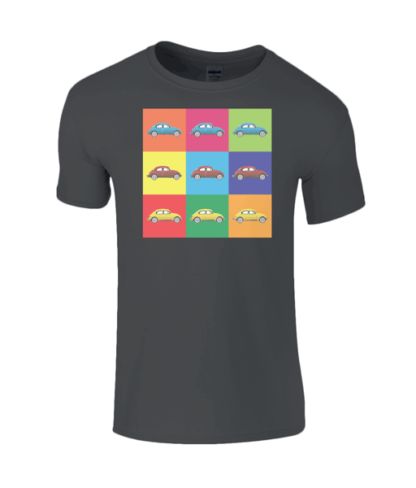 VW Beetle T-Shirt in Black