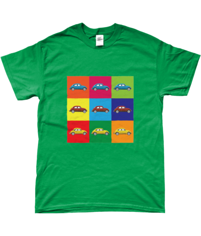 VW Beetle T-Shirt in Green