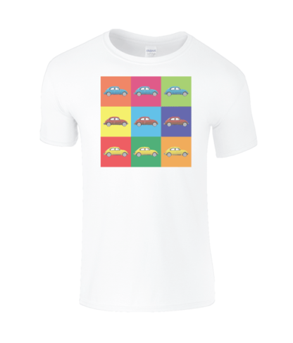 VW Beetle T-Shirt in White