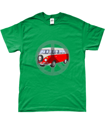 Camper Van T-shirt in Green