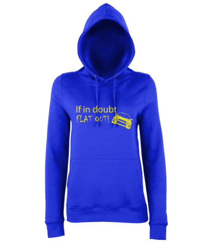 If in doubt Hoodie in Blue