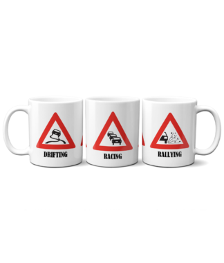 Drifting Racing Rallying Mug