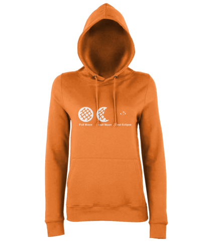 Cookie Moon Hoodie in Orange