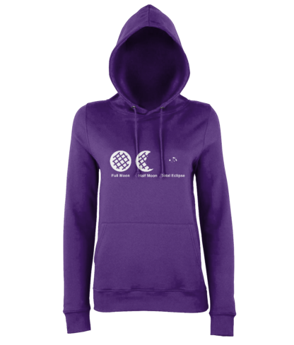 Cookie Moon Hoodie in Purple