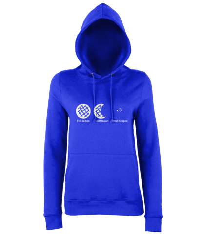 Cookie Moon Hoodie in Blue