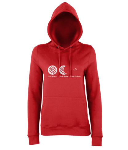 Cookie Moon Hoodie in Red