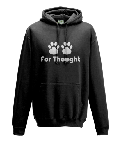 Paws for Thought Hoodie in Black