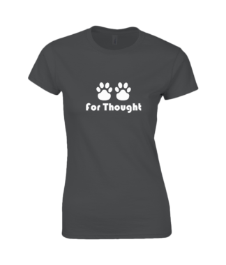 Paws for Thought T-Shirt in Black