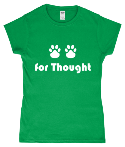 Paws for Thought T-Shirt in Green