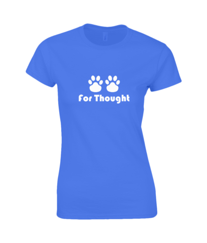 Paws for Thought T-Shirt in Blue