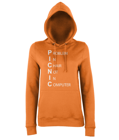 PICNIC Hoodie in Orange