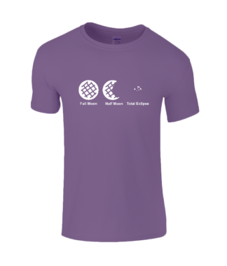 Cookie Moon T-Shirt in Purple