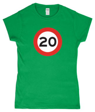 20mph T-Shirt in Green