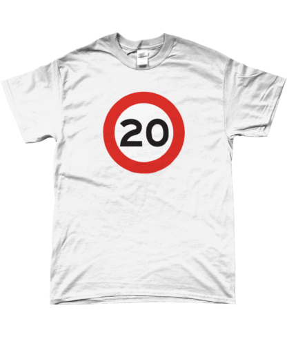 20mph T-Shirt in White