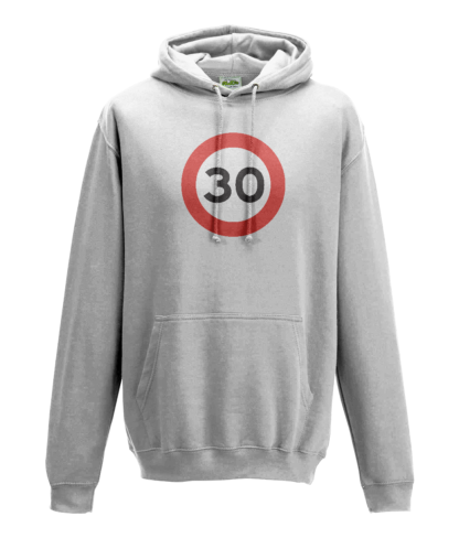 30mph Hoodie in White