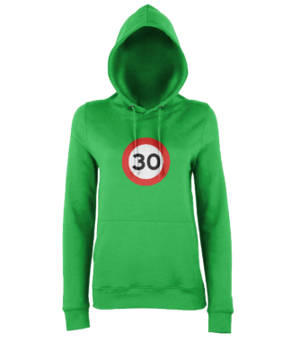 30mph Hoodie in Green