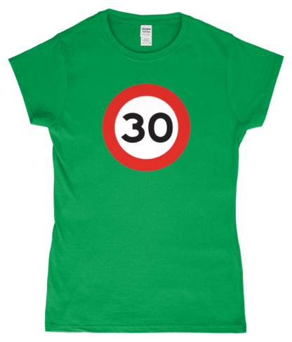 30mph T-Shirt in Green