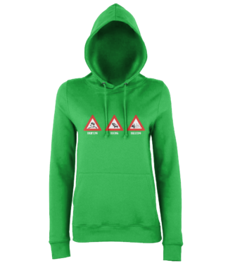 Drifting Racing Rallying Hoodie in Green