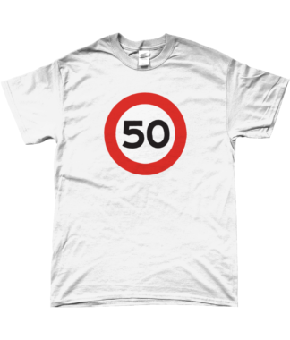 50mph T-Shirt in White