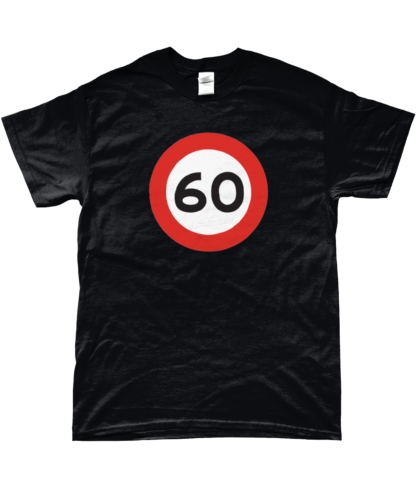 60mph T-Shirt in Black