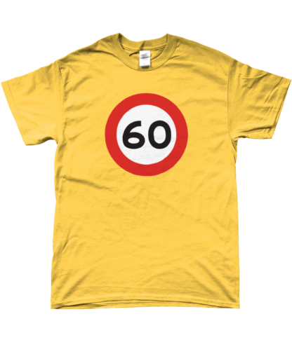 60mph T-Shirt in Yellow