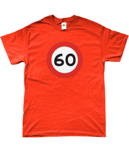 60mph T-Shirt in Orange