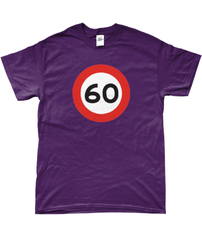 60mph T-Shirt in Purple
