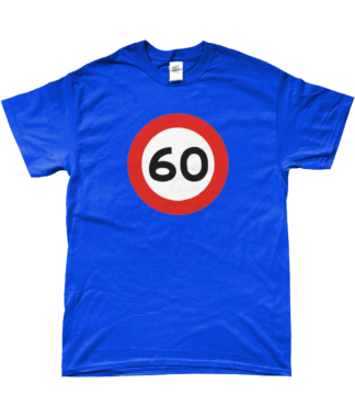 60mph T-Shirt in Blue