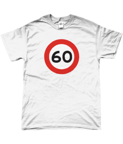 60mph T-Shirt in White