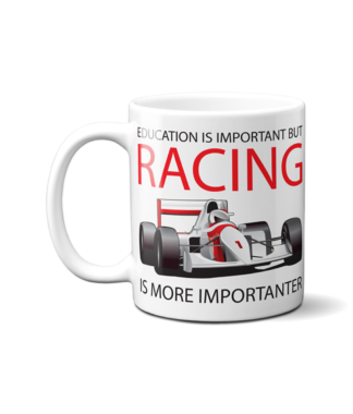 Racing is Importanter Mug