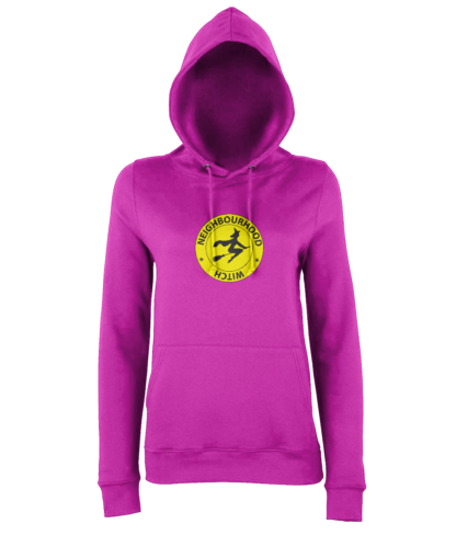 Neighbourhood Witch Hoodie in Pink
